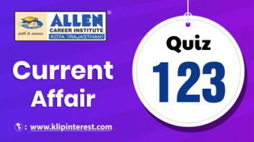 Current Affairs 123