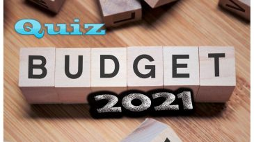 UNION BUDGET QUIZ 2021