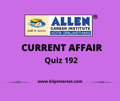 Current Affairs Quiz 2021