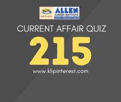 Curent Affairs Quiz 2021